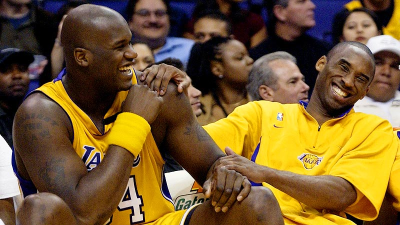 Image result for shaq and kobe