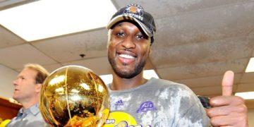 NBA Champion Odom