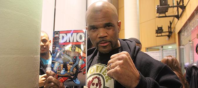 DMC Shows Love at the Black Comic Book Festival in Harlem