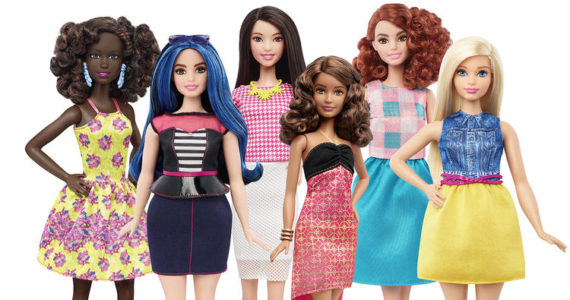 Barbie's new look