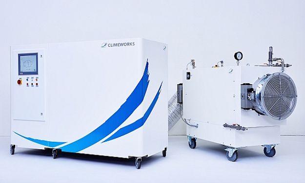 Carbon dioxide machines