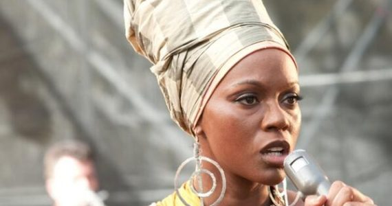 Zoe Saldana portrays Nina Simone in Blackface