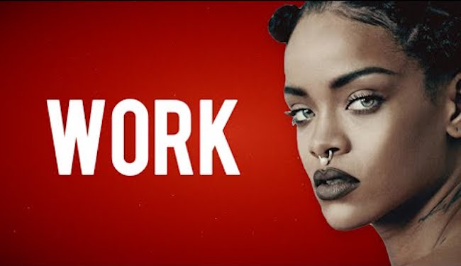 Rihanna-Work-Dancehall
