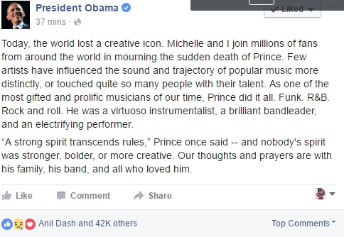 obama comment