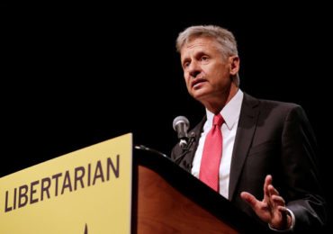 Libertarian Gary Johnson