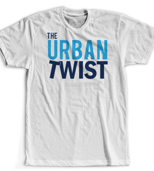 The Urban Twist Logo White Tee