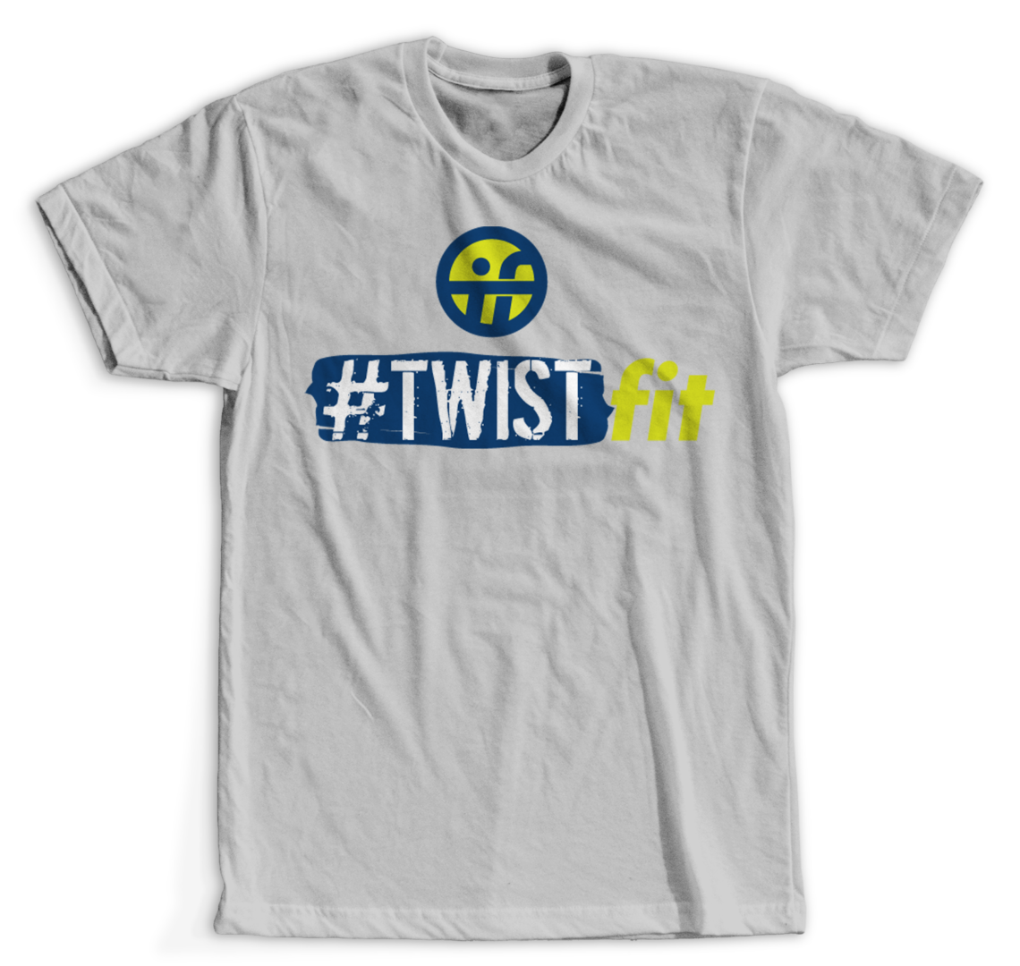 TwistFit Grey Tee