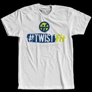 TwistFit White Tee