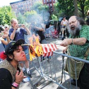 flag-burn white outrage