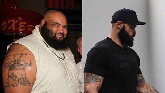 man loses weight by walking to walmart everyday