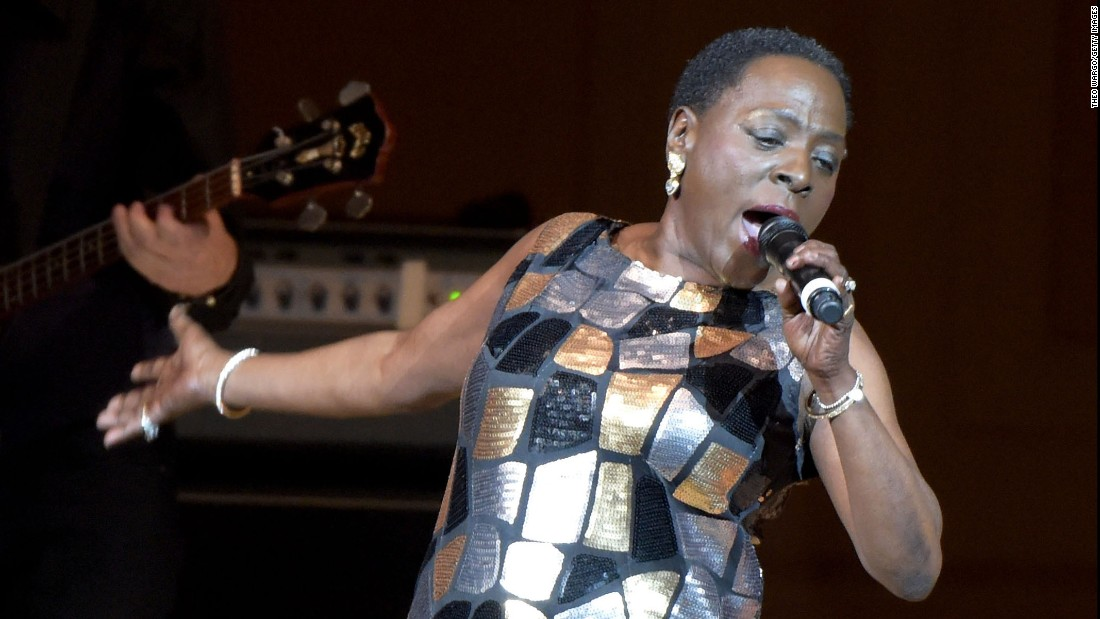Sharon jones 60 the soul and funk singer who has been called the
