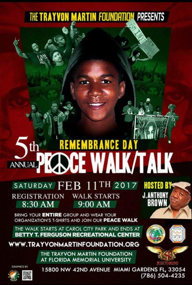 5th+Annual+Trayvon+Martin+Peace+Walk