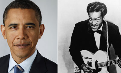 Barack Obama Chuck Berry