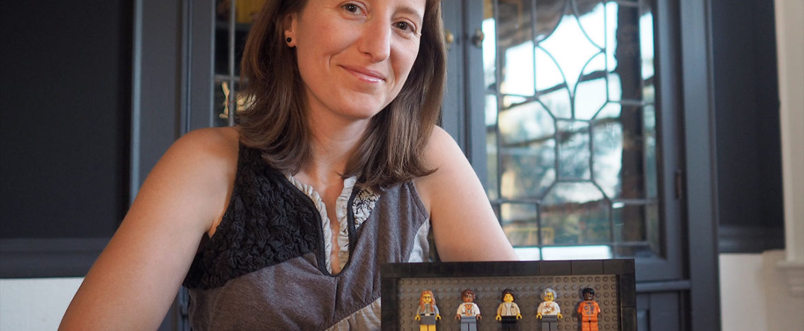 An Intimate Chat With Maia Weinstock, Creator of Lego Women of NASA Minifigure Set.