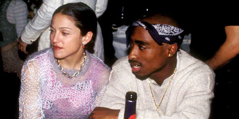 madonna and tupac relationship with women
