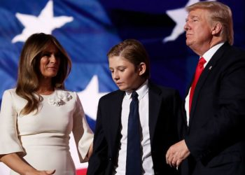 Barron and Donald Trump Father-and-Son Portrait Could Be First of its Kind in the White House
