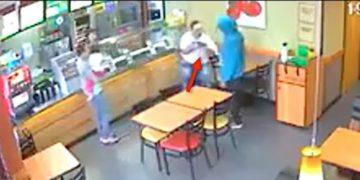 Man Pulls Gun on Fellow Subway Customer for No Apparent Reason