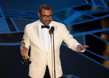 Jordan Peele becomes the first black screenwriter to win an Oscar best original screenplay