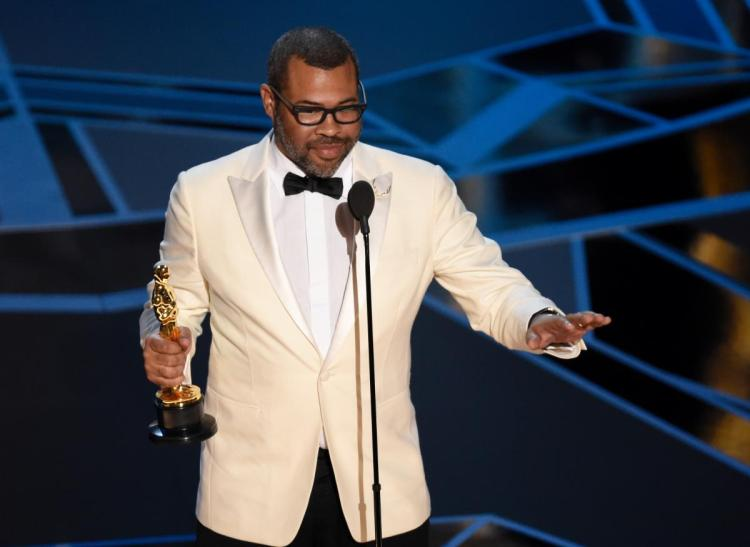 Jordan Peele becomes the first black screenwriter to win an Oscar best original screenplay