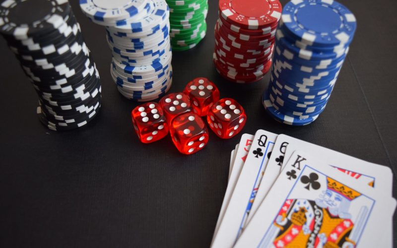 cards casino chance chip