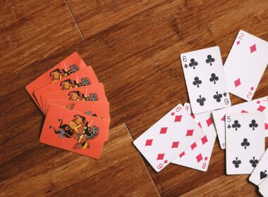 assorted playing cards flatlay photography