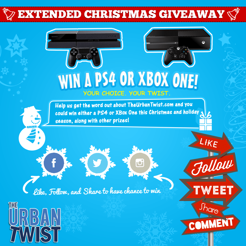 Xbox one giveaways and contests