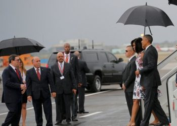 arriving in Cuba - Reuters