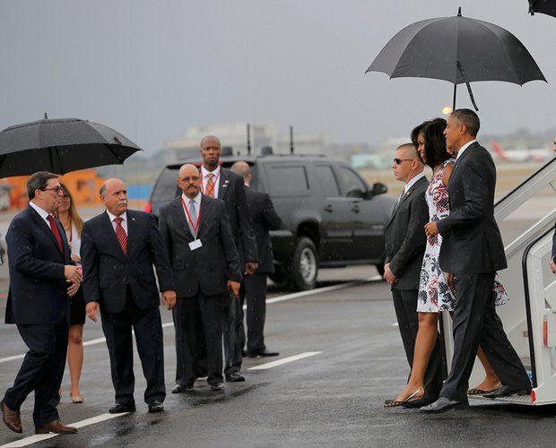 arriving in Cuba - Reuters