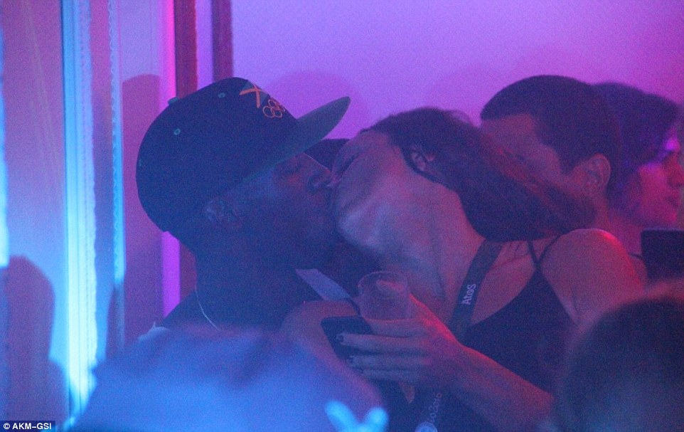 still kissing