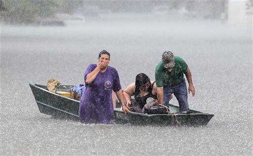 flood in Louisiana