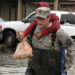 Louisiana Guardsmen assist in neighborhood evacuation