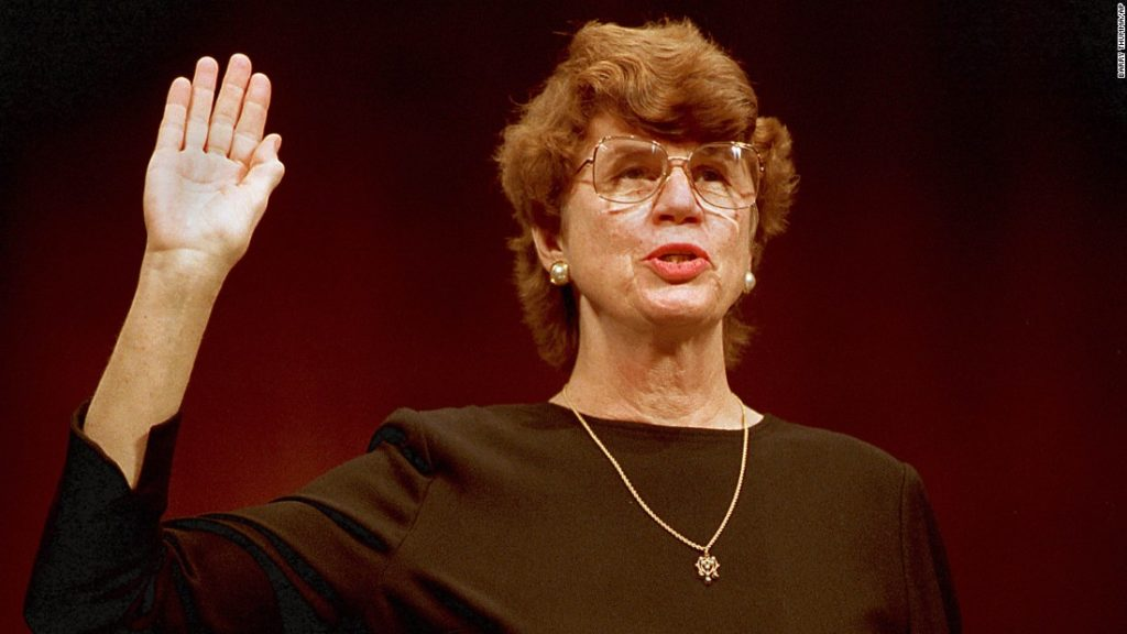 Janet Reno, (78) made history as the first female U.S. Attorney General. Reno passed away November 7, 2016 from Parkinson's disease.