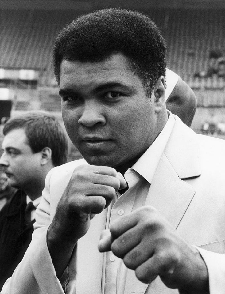 Muhammad Ali, (74) boxing great and activist, Ali died June 3, 2016 from septic shock. The boxer had struggle with Parkinson's disease for years.