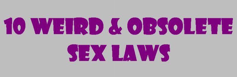 weird sex laws