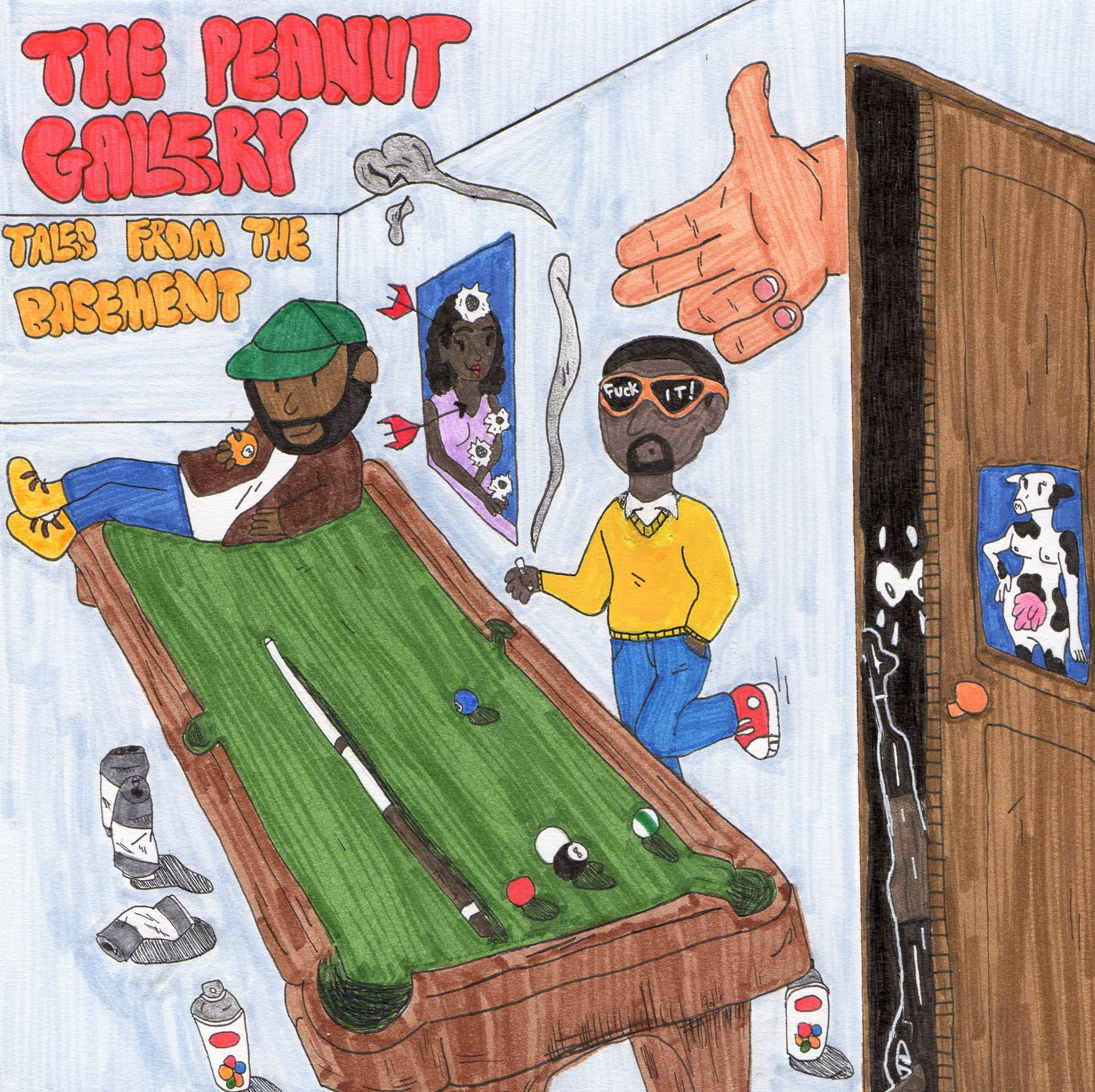Hip-hop Duo The Peanut Gallery Gives Major Love To '90s