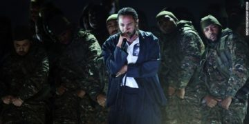 Kendrick Lamar performs mind blowing medley at the 2018 Grammys. Photo credit: CNN.com