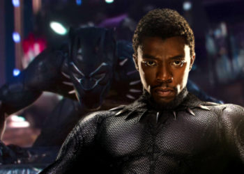 Chadwick Boseman as the Black Panther