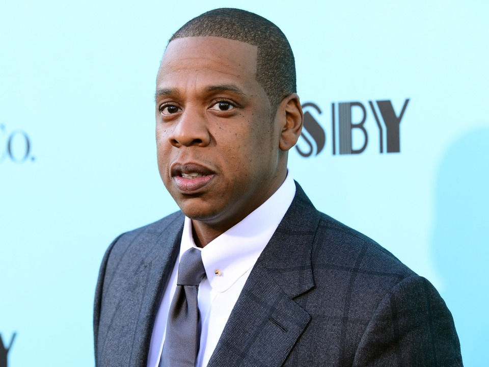 Rapper Jay-Z on the Red Carpet in New York City