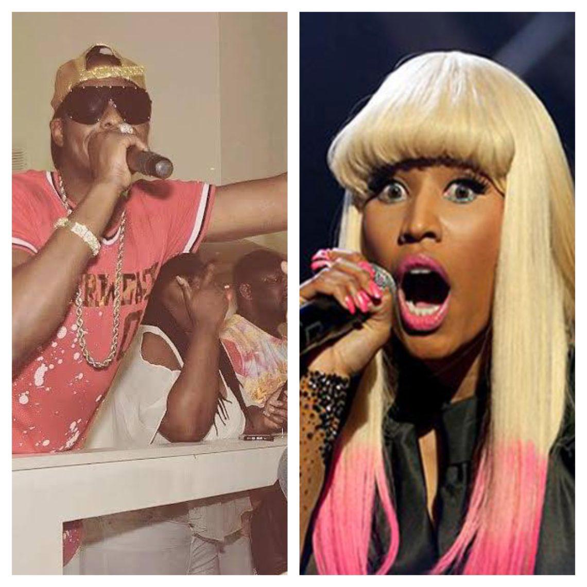 Artist P-kash and Artist nicki Minaj
