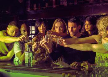 Sense8 Scene with Cast