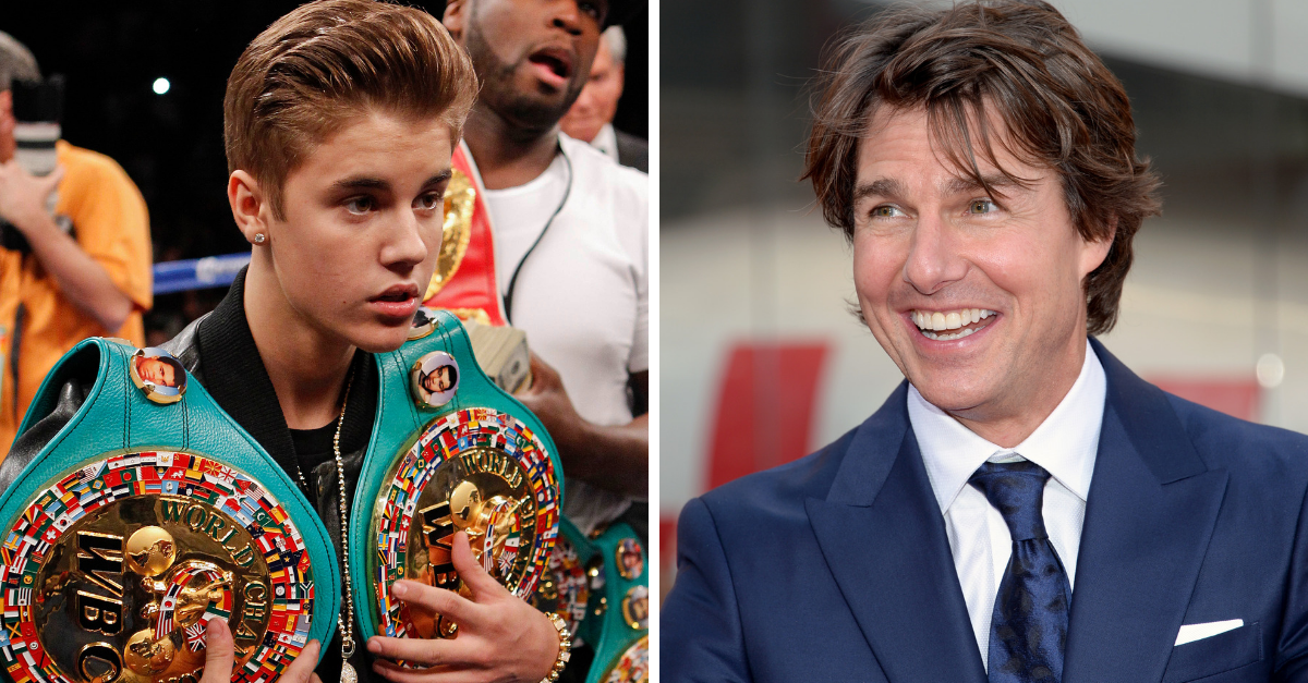 "Tom Cruise vs. Bieber: Dana White says ""Biggest UFC Purse ..."
