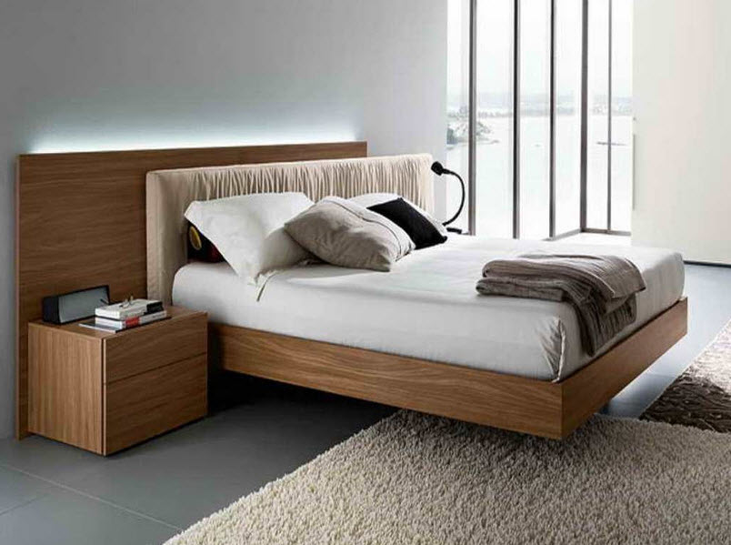 Make Your Bedroom Look Astonishing with Wooden Beds Sofa ...