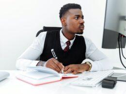 businessman man suit people